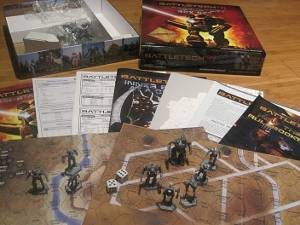 Battletech Box Contents